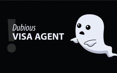 Characteristics of a Dubious Visa Agent