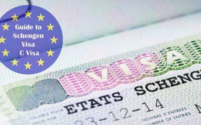 schengen visa guide infographic