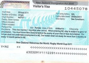 new zealand tourist visa rejected 2020