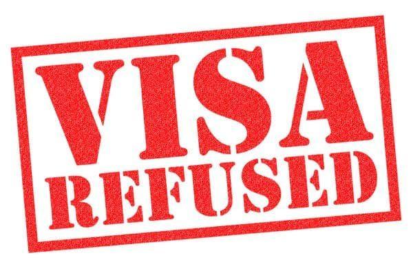 visa refused stamp
